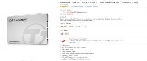 TS128のAmazon.comでの価格