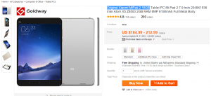 mipad2 aliexpress