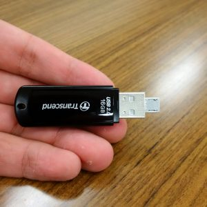 USB差込口がそのままMicro-Bに!