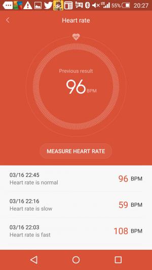 心拍数測定