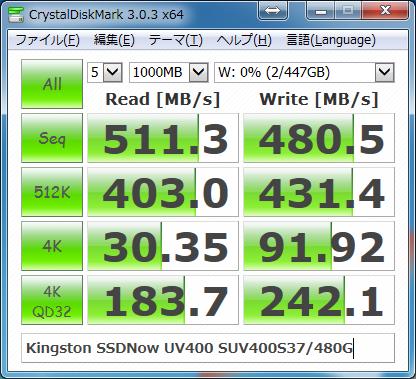 Kingston SSDNow UV400 SUV400S37/480G