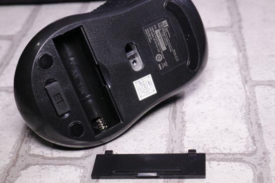 電池は単4電池1本で動きます。
