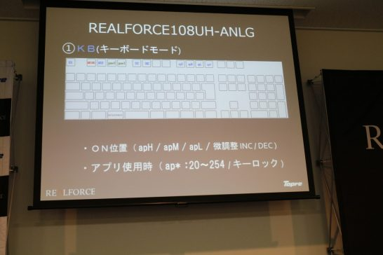 RealForceアンバサダー