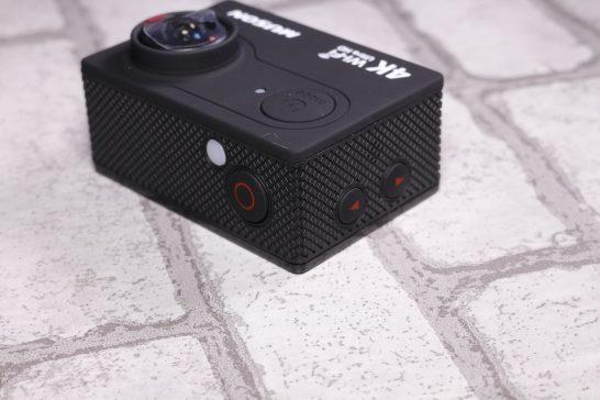 カメラ本体 ボタン部